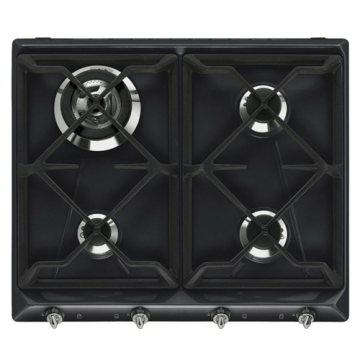 Built-in Tempered Glass Smeg Stove Gas