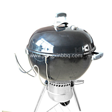 Slide-A-Side Lid Holder For Kettle Charcoal Grill