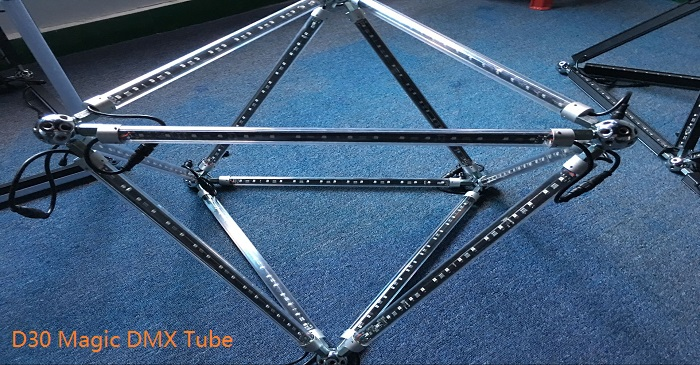 3d dmx vertical tube
