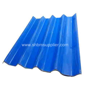 High Strength Fiberglass Reinforced MgO Workshop Roof Tiles