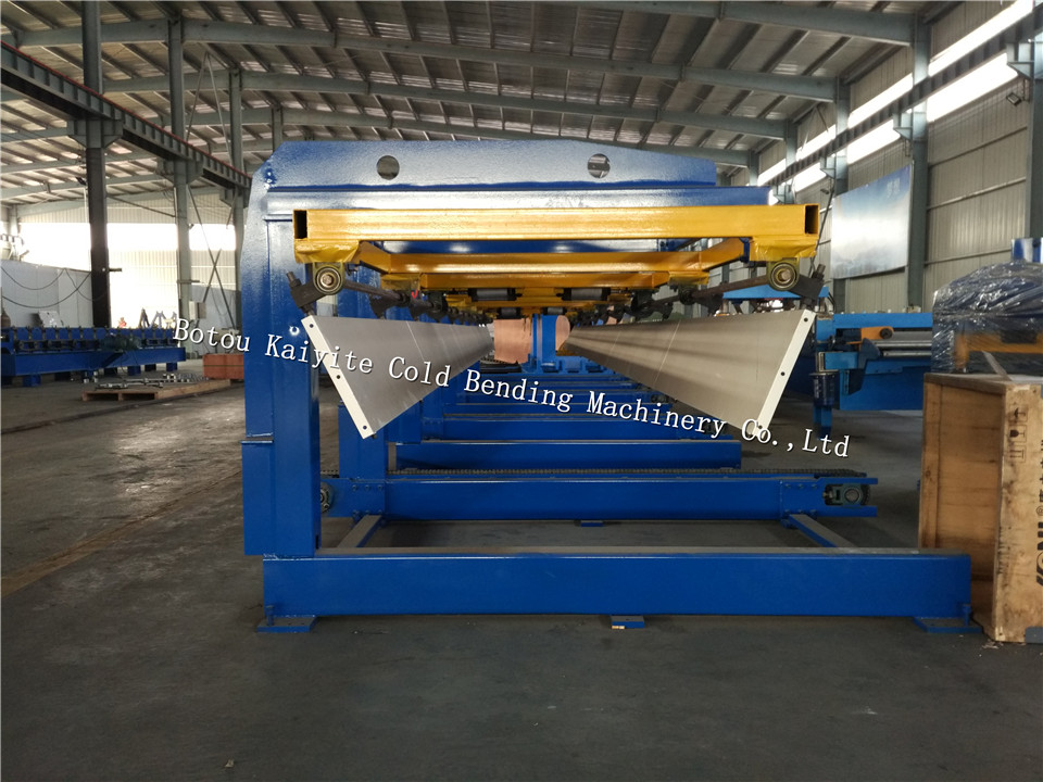 automatic roof panel stacker