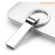 keyring metal impermeável usb flash pendrive