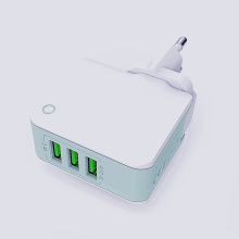 3.4A UK Plug Travel Charger With USB Cable