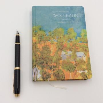 Paper retro painting notebook