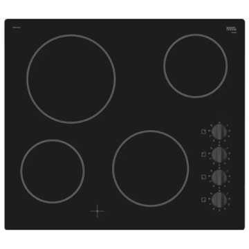 Bosch Electric Hobs UK 60CM Black Glass Top