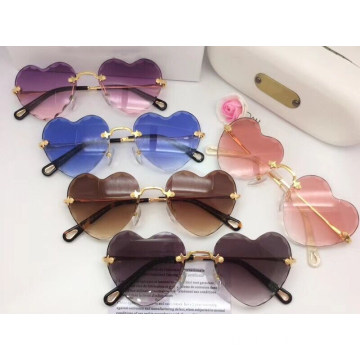Colorful Heart Shaped Sunglasses For Women