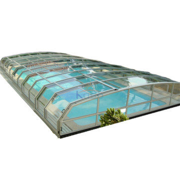 Leaf Heat Retaining Swimming Pool Cover Polycarbonate
