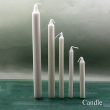 Pillar shape small diameter stick candle daily use