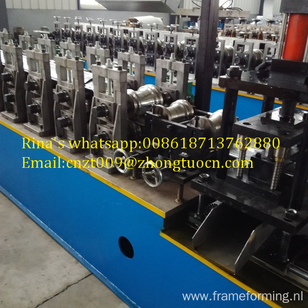 roller shutter door machines slats rolling sheet shutter door machine