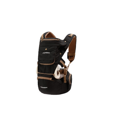 Soft Ergonomic Baby Carrier With Hip Seat
