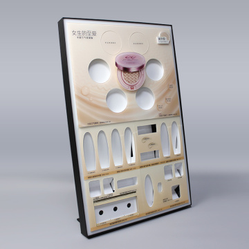 APEX Custom Counter Makeup Acrylic Cosmetic Display Stand