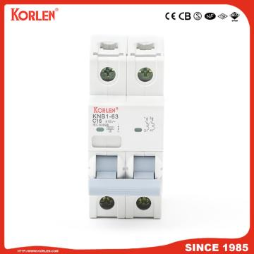 Distribution Mini circuit breaker 1A-63A DZ47 type MCB