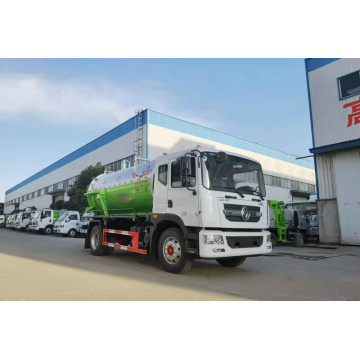 sewage suction truck 10cbm tank capacity