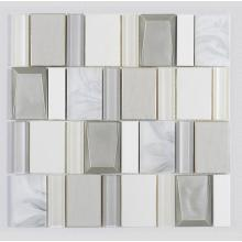 Popular Bathroom Glass Mosaic Ceramic Art Mixed Tiles