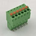 3.81mm pitch spring type PCB plug-in terminal block