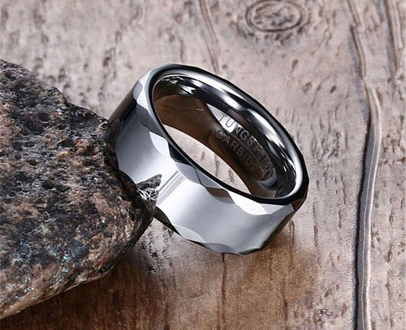 tungsten carbide rings for him