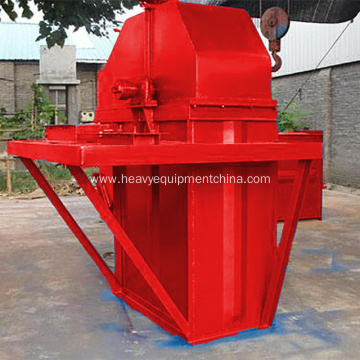 High Temperature Vertical Bucket Elevator Used For Cement