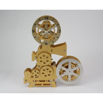 Cinematography Machine Gear Desk Clock