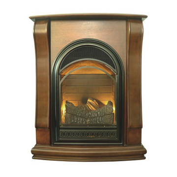 fireplace gas heater mantle