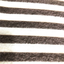 T/R/SPX print brushed cashmere fabric