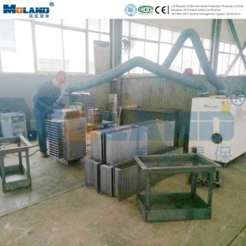 Welding Fume Extractor 2500m3/h Air Volume