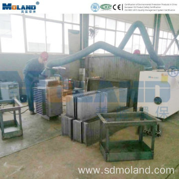 Double Arms Economic Welding Dust Collector