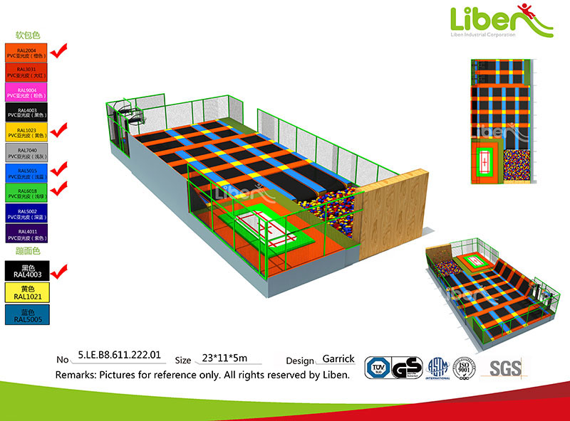 France indoor trampoline park