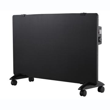black glass convection heaters