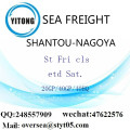 Shantou Port Sea Freight Shipping To Nagoya