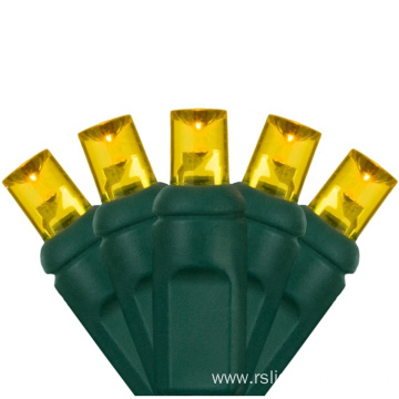 UL Weather Resistant Christmas Light Yellow