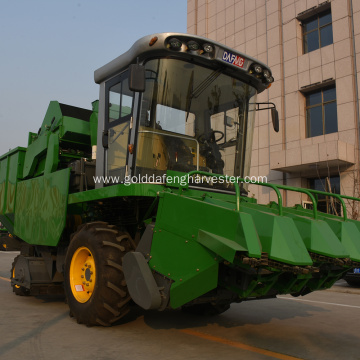 large sized corn kernel combine harvester