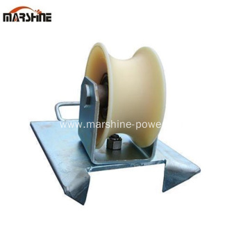 Edge Mount Manhole Entry Roller