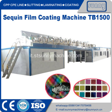 PET Sequin Film Coating Machine TB1100