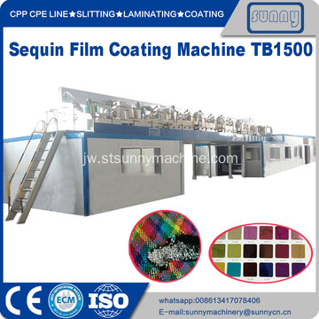 Mesin Pelapis Film PET Sequin TB1100