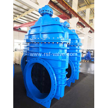 Non-Rising Stem Resilient Gate Valve Gear Operated