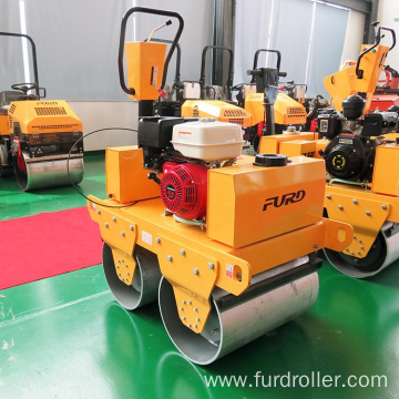 Walk Behind Double Drums Roller Compactor with Japan Engine