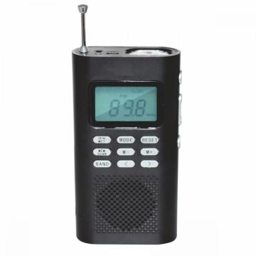 Portable Radio DAB+/FM Radio With Alarm Clock Sleep Auto Scan Function Alarm Clock Radio