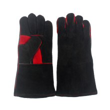 Heat Resistant & Flame Retardant Leather Barbecue Gloves