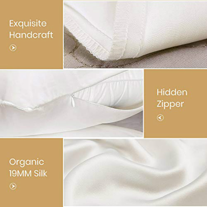 Ivory1 Silk Pillow Case