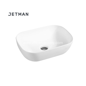 Thin Side Art Basin Ceramic Sink