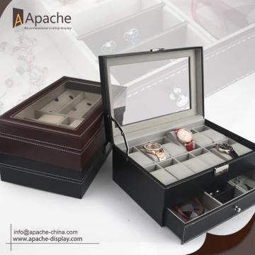 Leather Watches Stoarage Box