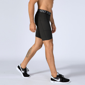 Men running gym shorts