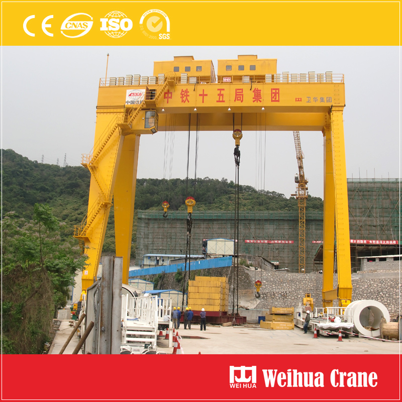 Gantry Crane 600t Tunnel Construction