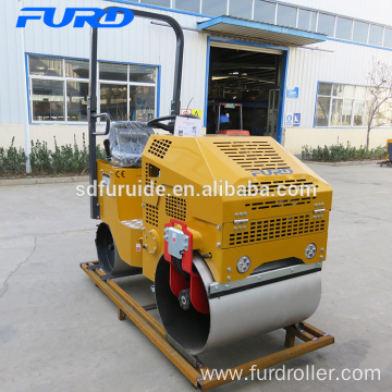 Hydraulic Double Drum Mini Compactor Rollers with CVT (FYL-860)