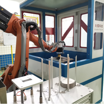 Industrial automatic dry grinding modular sanding station