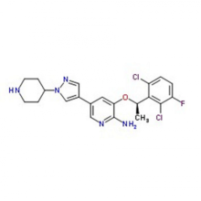 Crizotinib (PF2341066) 877399-52-5 in stock
