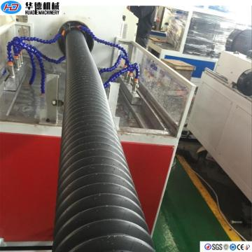 PE Cable Protective Sheathed Spiral Pipe Making Machine