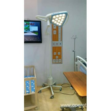 Mobile medical examination lamp with battery
