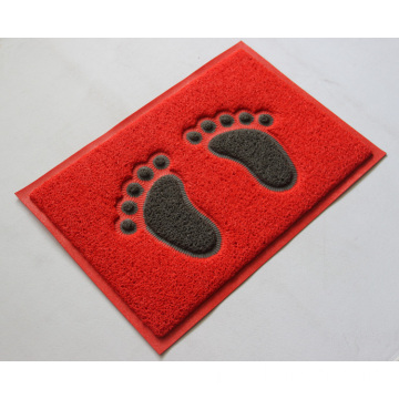 Red Gray colors 40x60cm foot entrance mat