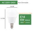 E14 6W Bulb